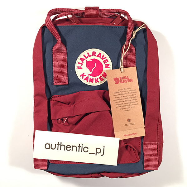 ox red and royal blue kanken mini