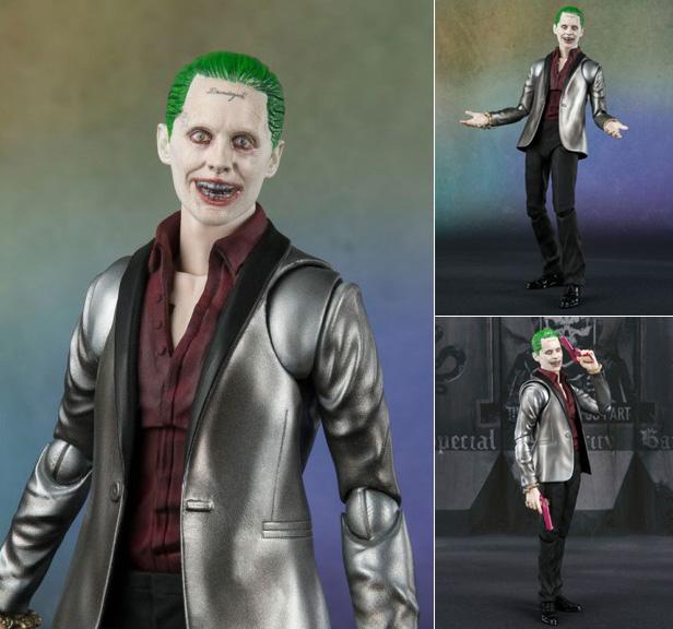 """Figuarts Joker Suicide Squad 6/"""" Action Figure S.H"""