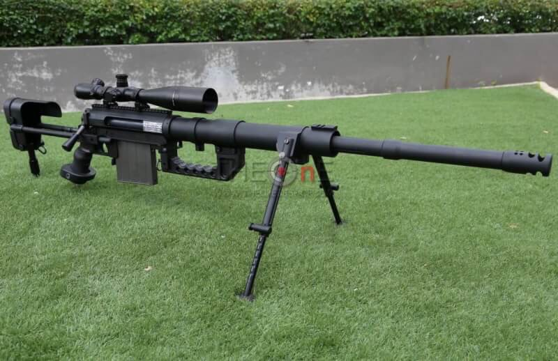 New S&T Cheytac M200 Sniper Rifle Black (Air Cocking) สีดำ