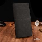 กระเป๋าสตางค์ผู้ชาย ทรงยาว BOGESI Clear - สีดำ