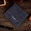 กระเป๋าสตางค์ผู้ชาย ทรงสั้น Weichen - สีน้ำเงิน thumbnail 3