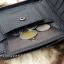 กระเป๋าสตางค์ผู้ชาย หนังแท้ ซิปรอบ รุ่น GUBINTU Zipper - สีดำ thumbnail 11