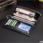 กระเป๋าสตางค์ผู้ชาย ทรงยาว CHUANCHENG - สีดำ thumbnail 3