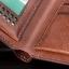 กระเป๋าสตางค์ผู้ชาย ทรงสั้น YATEER รุ่น 125-1 - สีน้ำตาล thumbnail 6