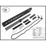 New.Rail / Stock >> M4 RAIL >> AGWC16.2inch CNC Aluminum Rail Kit A typeFor:M4 Cmmg.22 / 5.56 ราคาพิเศษ