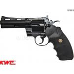 ปืนลูกโม่ Python.357 4 inch. gas Co2 (BK)