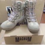 New.รองเท้า Magnum TACTICAL BOOT ข้อยาว หนังแท้ และผ้าคอดูร่า (CORDURA) ใส่สบาย ซิปข้าง ระบายอากาศดี ไม่อับ สีดำ. สีทราย ราคาพิเศษ