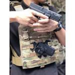 New.เพจยึดซองปืนติดกับเวส ใช้กับซองปืนb lackhawk ราคาพิเศษ