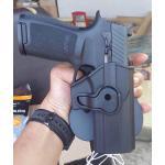 Sig P320 ซองปืนที่เจ้าหน้าที่ตำรวจใช้มากที่สุด‼️‼️ ✔️ซองปืนโฟลิเมอร์แท้ 100% ✔️ซองปืนแบบล็อก 2ชั้น ป้องกันผู้ไม่หวังดีแย่งปืน🔫 ✔️ซองปืนเหน็บเข็มขัดล็อกแน่น วิ่งได้ไม่ต้องกังวลปืนหล่น‼️😊😊 ✔️ซองปืนเพื่อตำร