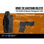 New.ผลิตภัณฑ์ใหม่ ® cytac ซอง iwb ซีรีส์เพิ่มรุ่นใหม่สำหรับสมิธแอนด์เวสสันบอดี้การ์ด 380 บอดี้การ์ด 380 iwb ซอง cytac ราคาพิเศษ