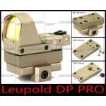 New.Leupold Optics DeltaPoint Pro DP PRO Red Dot Scope ติด M4 M1911 GLOCK (BK-TAN) ราคาพิเศษ
