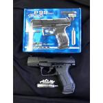 New.Walther P99 DAO Caliber 6 mm BB Power Source CO2 Magazine capacity 15 shot(s) Safety trigger safety Sights not adjustable Max. energy approx. 2,0 Joule(s) Shoot-Up available (not adjustable) Length 180 mm Weight 592 g Material metal / plastic Special