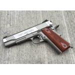 New.CYBERGUN COLT 1911 Rail CO2 GBB Pistol (Stainless) ราคาพิเศษ