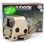 EOTech HWS XPS3-2 Holographic Red Green Reflex Dot Sight with QD Mount Side Button (TAN)