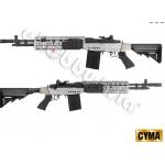 M14 EBR CYMA CM.032-EBR สีบลอนด์-ดำ บอดี้เหล็ก