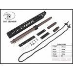 New.Rail / Stock >> M4 RAIL >> AGWC13.5inch CNC Aluminum Rail Kit A typeFor:M4 Cmmg.22 / 5.56 ราคาพิเศษ