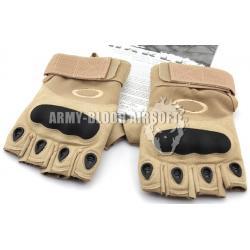 OAKLEY SI Assault Factory Pilot Gloves Half Finger (TAN)prev next