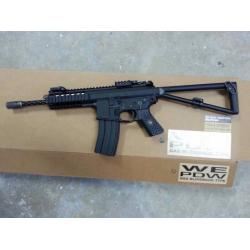 WE KAC PDW Open Bolt Gas Blowback Rifle (Black / Long)