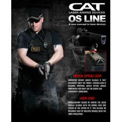 New.CAT OS Magnet MAGNETIC DETACHABLE LASER SIGHT for GLOCK pistols models 17,19, 22, 23, 25, 26, 27, 28, 31, 32, 33, 34, 35, 37, 38 y 39. ราคาพิเศษ