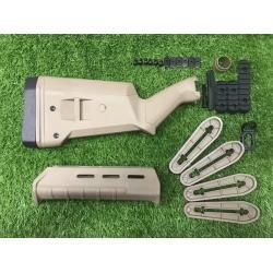 New.ชุดแต่งปืนยาวลูกซอง Rabington 870 สีดำ / สีทราย ราคาพิเศษ