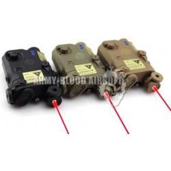 New.AN/PEQ-15 Laser Aiming Device With Flashlight สีดำ สีทราย ราคาพิเศษ