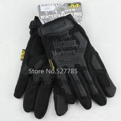 New.Mechanix Wear Gloves M-Pact Fingerless (Black M/L/XL Size) เต็มนิ้ว ราคาพิเศษ