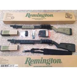 New.ชุดแต่งปินยาว ลูกซอง MAGPUL REMINGTON 870 อุปกรณ์แต่งมาครบชุด สีดำ / สีทราย ราคาพิเศษ