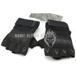 OAKLEY SI Assault Factory Pilot Gloves Half Finger (BK)prev next