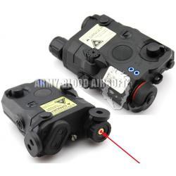 Navy Seal SOF LA-5 PEQ15 Battery Case W/ red laser (BK)prev next