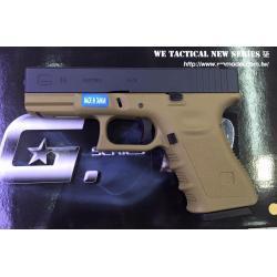 ปืนสั้น ลอัดแก็ซ We Glock19. สีทราย ราคาพิเศษ