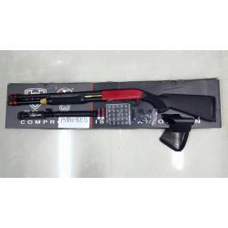 New.ลูกซอง APS RED-M870 อัดแก็ซ CO2. สีแดง ราคาพิเศษ
