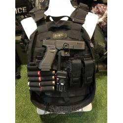 สินค้าใหม่ กระเป๋าเกราะยุทธวิธี ใส่แผ่นกันกระสุนได้ทุกรุ่น มี สี ดำ เขียว ผ้า CORDURA ราคา 3500 บาท