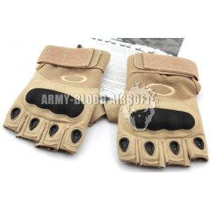 OAKLEY SI Assault Factory Pilot Gloves Half Finger (TAN)prev next