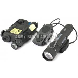 New.AN/PEQ-15 LA5 W/ WMX200 Advanced Illuminator Combo Red Laser Type (BK) ราคาพิเศษ