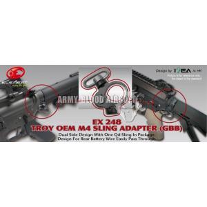 (WA M4) Troy OEM M4 QD-Sling Adapter End Plate (BK/TAN)prev next