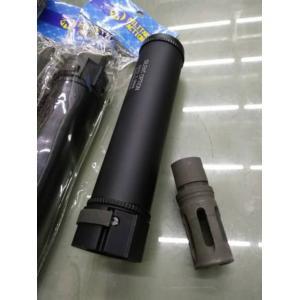 New.Surefire FA556 MG 6.72 inch Airsoft Suppressor Silencer W/ Flash Hider 14mm- ราคาพิเศษ