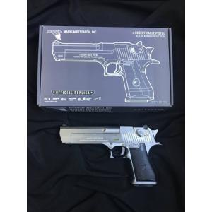 New.WE - Cybergun licensed Desert Eagle .50 Cal GBB pistol with marking (Electroplating Silver) ราคาพิเศษ