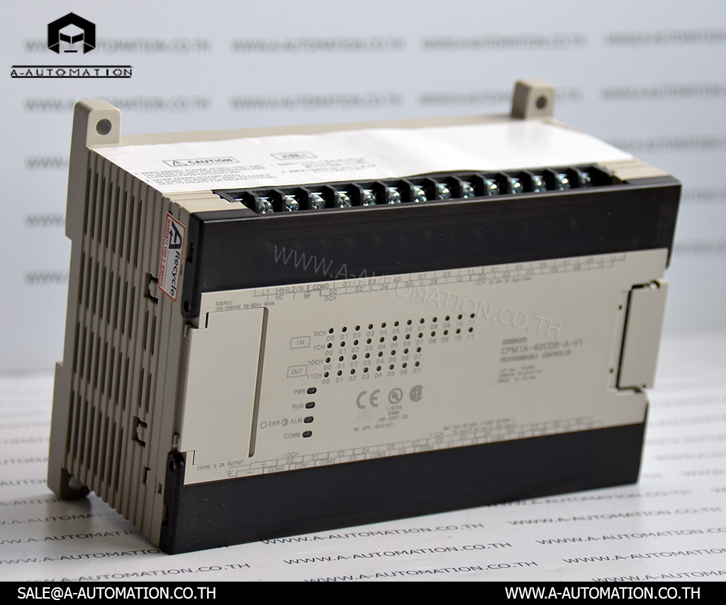 PLC MODEL:CPM1A-40CDR-A-V1 [OMRON]