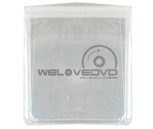 OPP Plastic Bags for VCD 15.5 แบบหนา เกรด A (100 PCS)