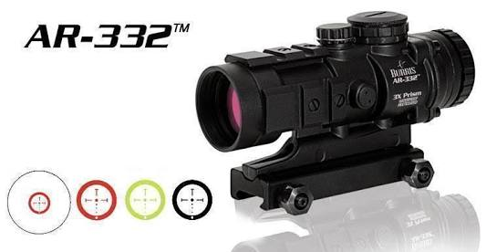 New.กล้อง Scope Burrs AR-332 3x32 AR-15 Tactical Prism Sight ราคาพิเศษ