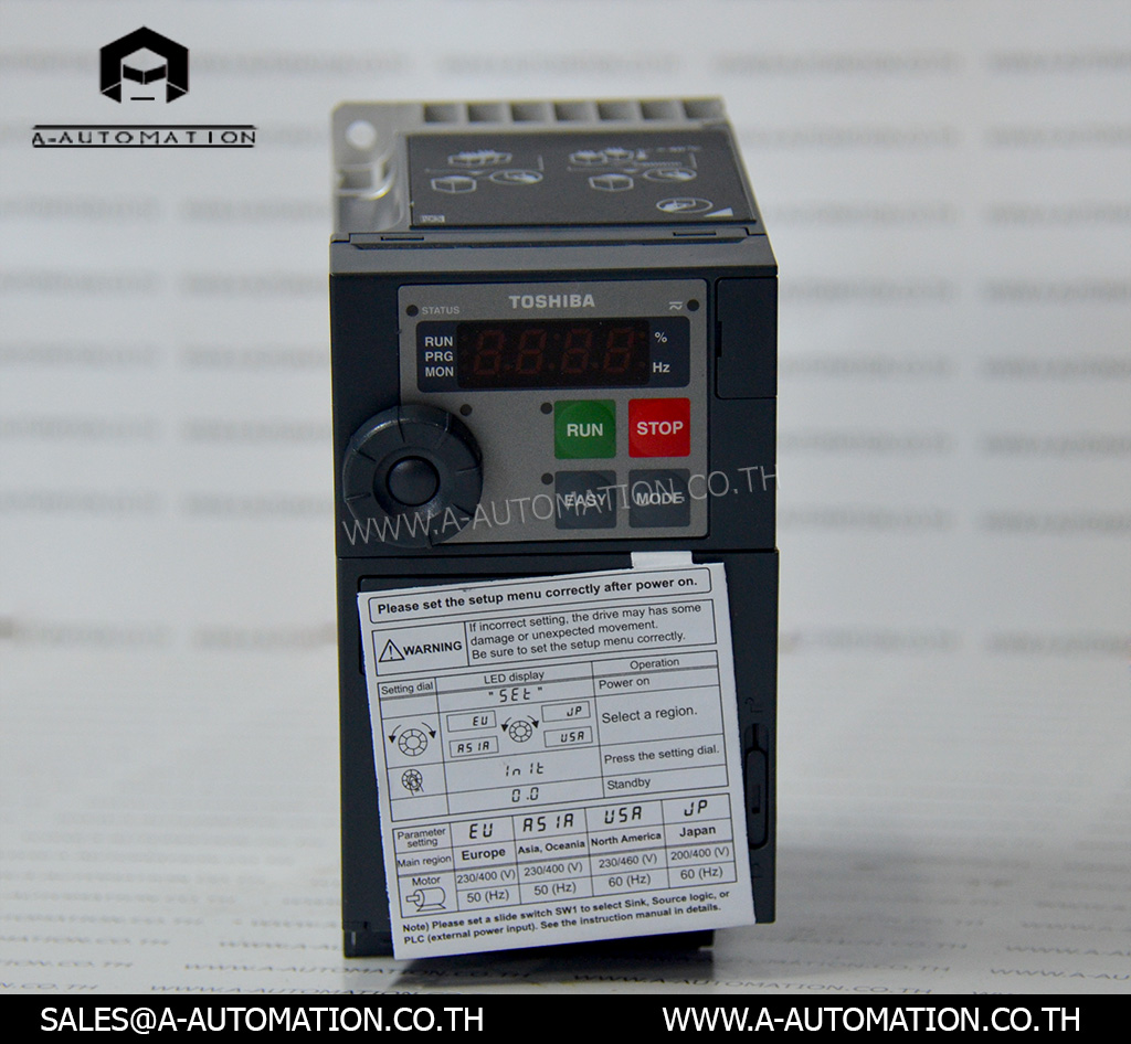 Inverter TOSHIBA Model:VFS15S-2004PL-W