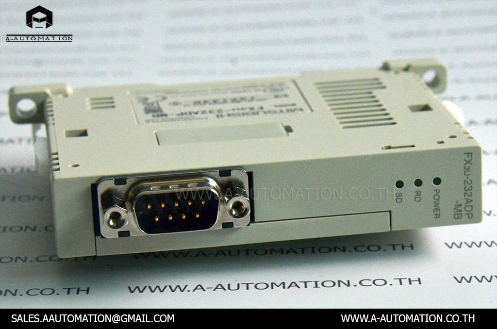 PLC MODEL:FX3U-232ADP-MB [MITSUBISHI]