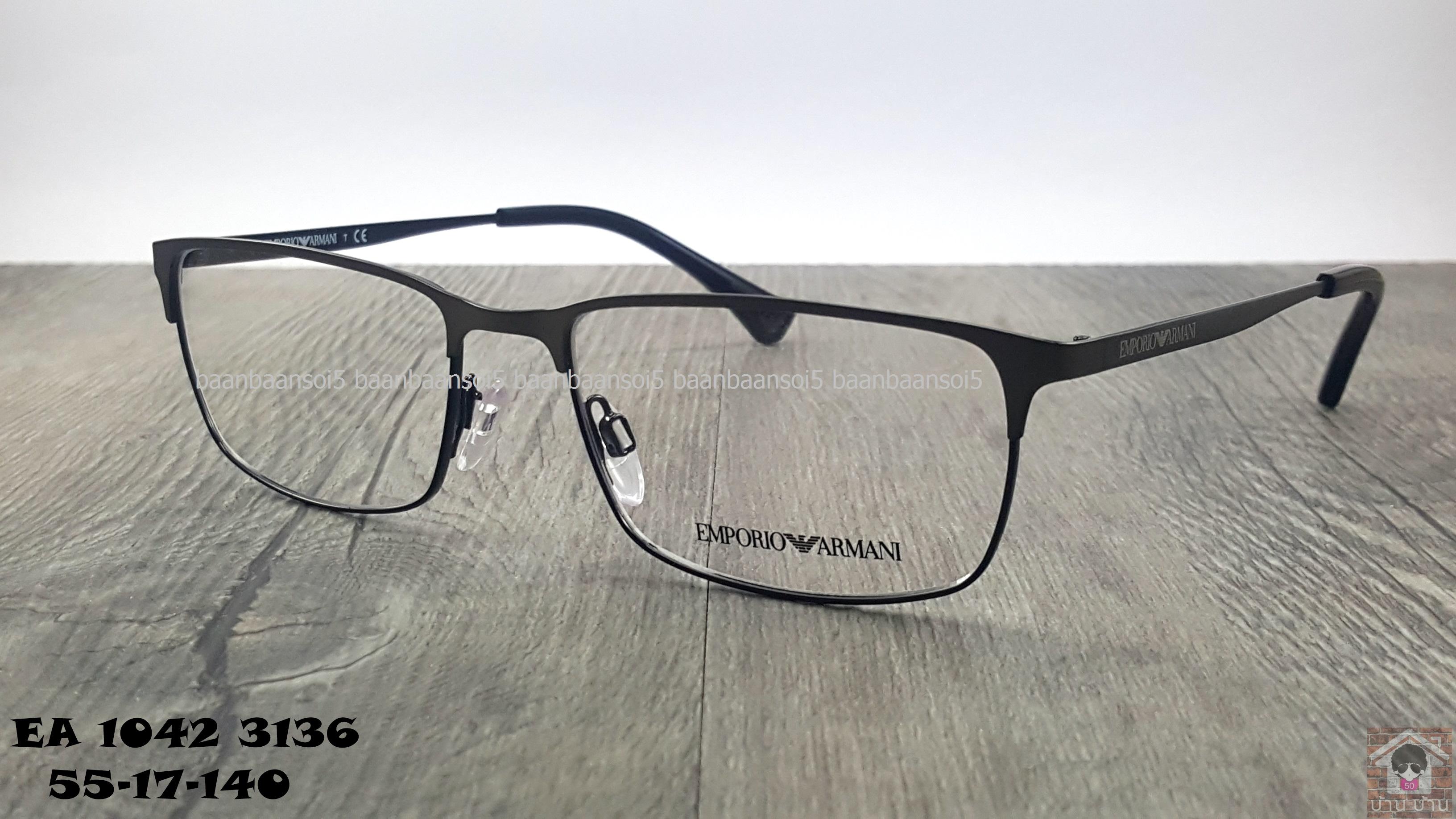Empoiro Armani EA 1042 3126 โปรโมชั่น กรอบแว่นตาพร้อมเลนส์ HOYA ราคา 4,800 บาท