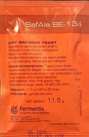 Fermentis SafAle BE-134