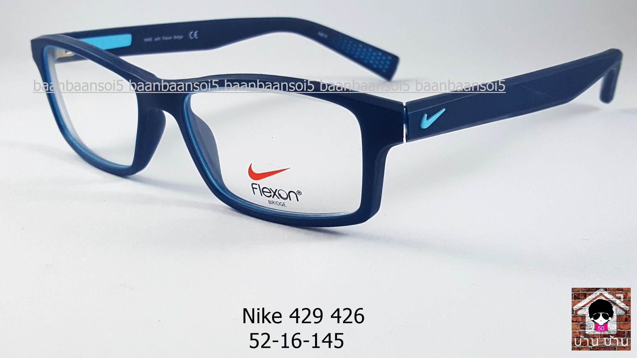 NIKE BRAND ORIGINALแท้ Flexon 4259 426 กรอบแว่นตาพร้อมเลนส์ มัลติโค๊ตHOYA ป้องกันรังสีคอม 6,200 บาท