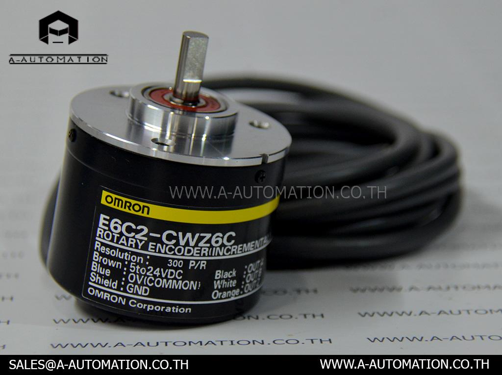 Rotary Encoder Omron Model:E6C2-CWZ6C,300P/R