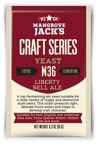 Liberty Bell Ale M36 10g.x12 packs