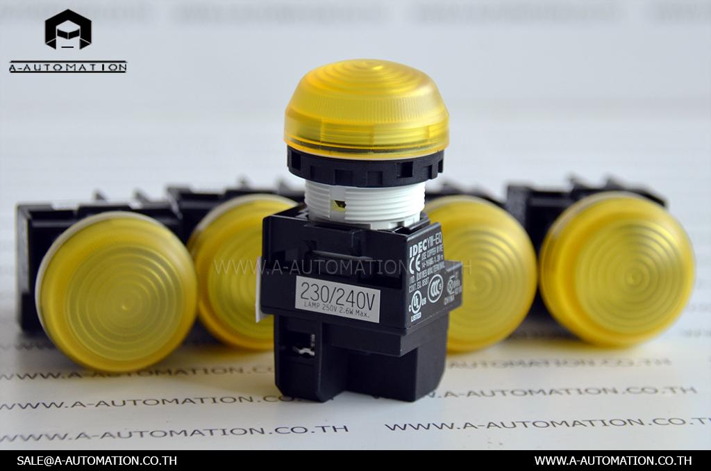 PILOT LAMP MODEL:YW1P-2EQM3Y [IDEC]