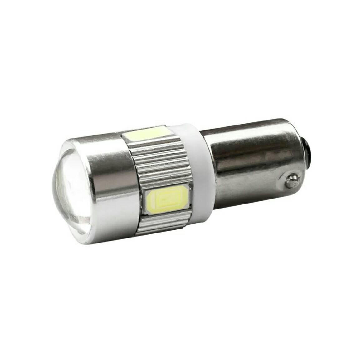 ไฟหรี่ ไฟเลี้ยว ไฟถอย LED ขา BA15Sแบบเขี้ยว