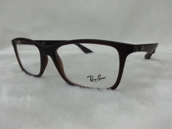 Rayban RX7047F 5451 โปรโมชั่น กรอบแว่นตาพร้อมเลนส์ HOYA ราคา 3,800 บาท